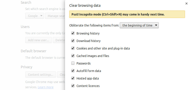 clear-browing-history-on-chrome