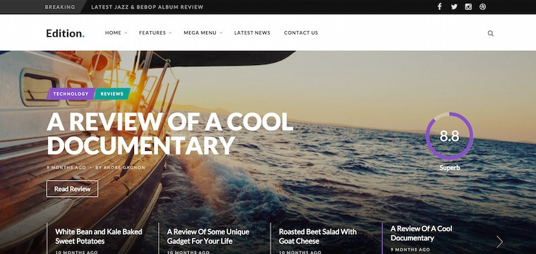 25 Premium News WordPress Themes