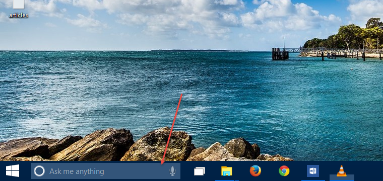 Cortana in Windows 10 Technical Preview 9926