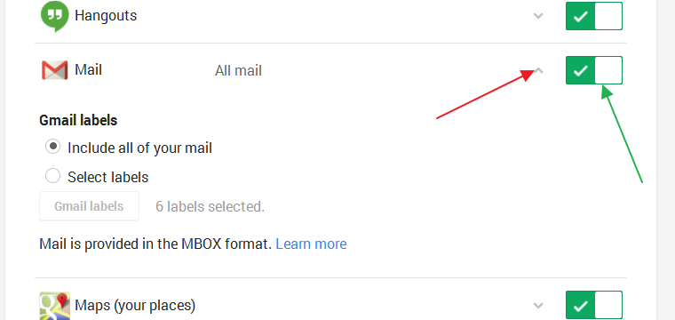 how to take a backup of gmail account