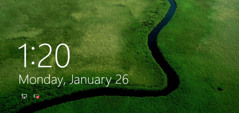 Disable, Enable Lock Screen in Windows 10
