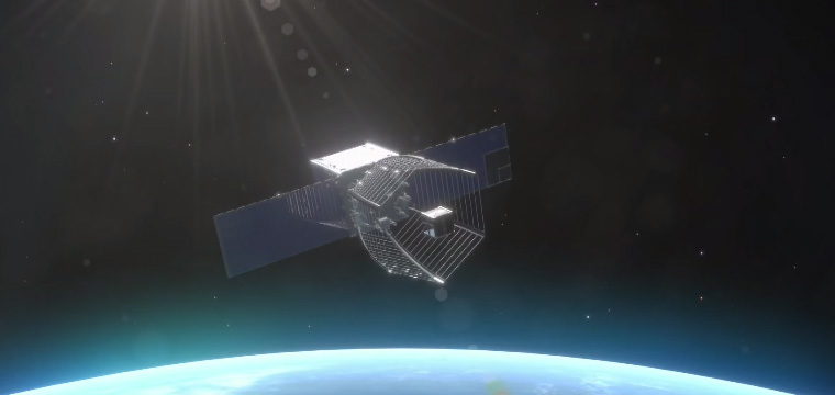 Swiss' Pac-Man Satellite